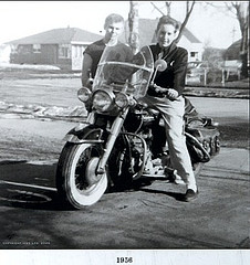 Young Bob On Harley