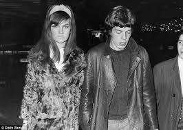 Mick And Chrissie Shrimpton