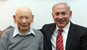 Benzion Netanyahu And Son Bibi