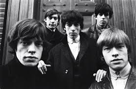 Rolling Stones: Mick, Brian up front.